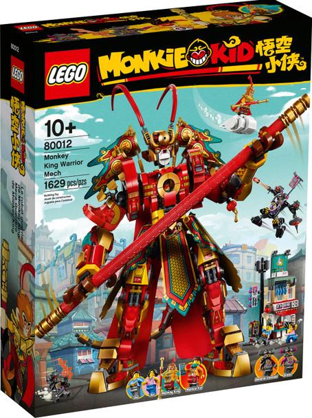 LEGO® Monkie Kid 80012 Monkey King Warrior Mech