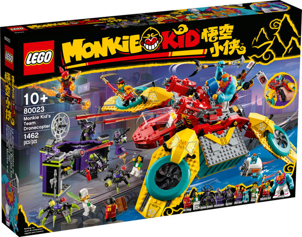 LEGO® Monkie Kid 80023 Monkie Kid's Team Dronecopter