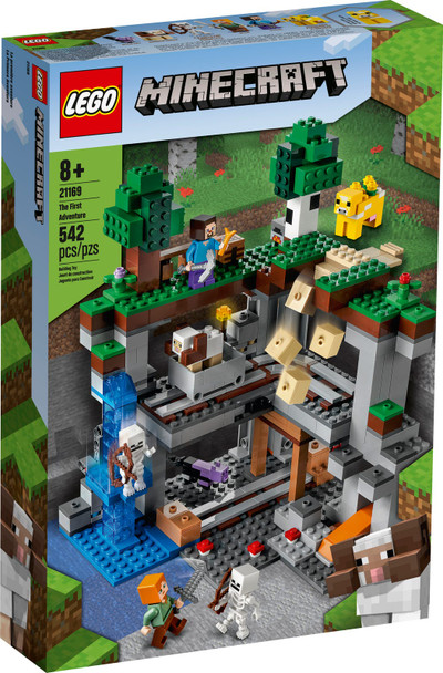 LEGO® Minecraft 21169 The First Adventure