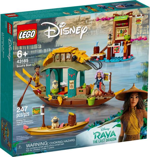 LEGO® Disney Raya 43185 Boun's Boat
