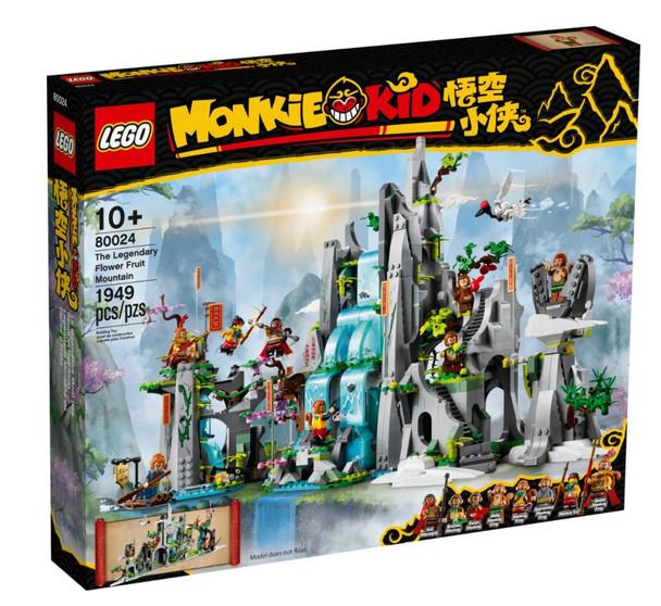 LEGO® Monkie Kid - The Legendary Flower Fruit Mountain 80024