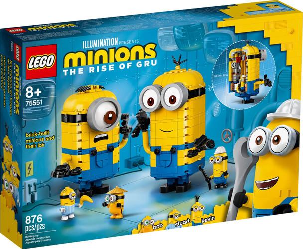 LEGO® Minions 75551 Brick-built Minions and their Lair