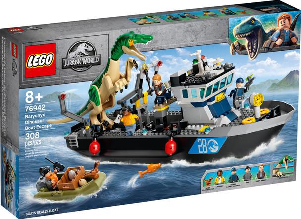 LEGO® Jurassic World 76942 Baryonyx Dinosaur Boat Escape