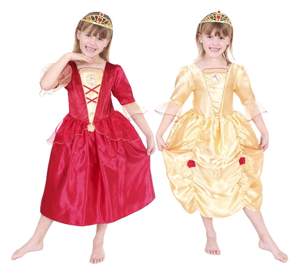Belle Reversible Disney Princess Costume Dress up