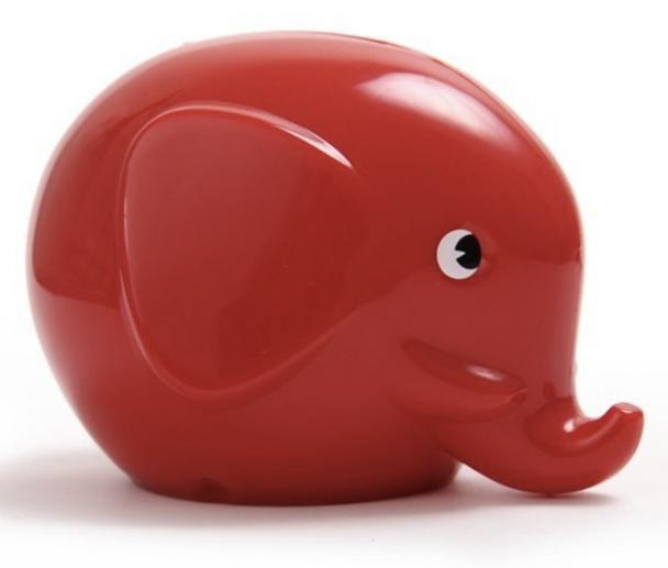 Norsu Red Elephant Money Box  Maxi