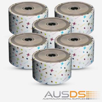Intact CD CD-R  Inkjet printable discblank disc media - Printable CD-R discs matte - 52X burn