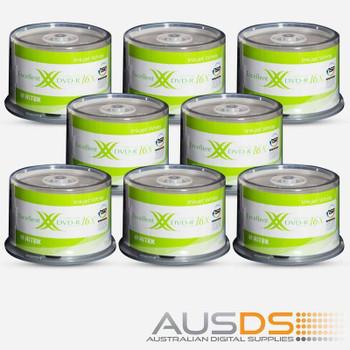 Ritek DVD blank disc media - Printable DVD-R discs matt - 16X burn