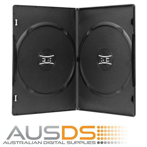 DVD Case Amaray, Double holds two discs