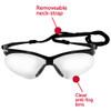 Kleenguard Nemesis Safety Glasses Black Frame Clear AF Lens #25679 3/Pack
