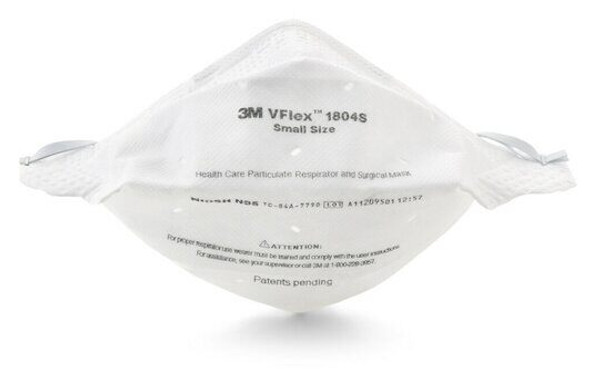 3M N95 Surgical Particulate Respirator VFlex #1804S Small