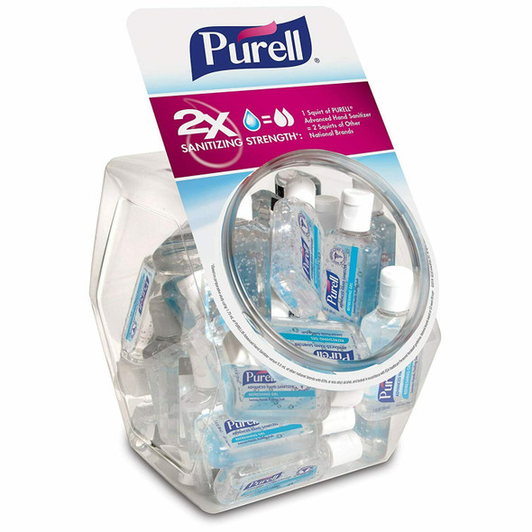 Purell Hand Sanitizer, 1 oz Flip-Cap with Display Bowl - 36 Bottles