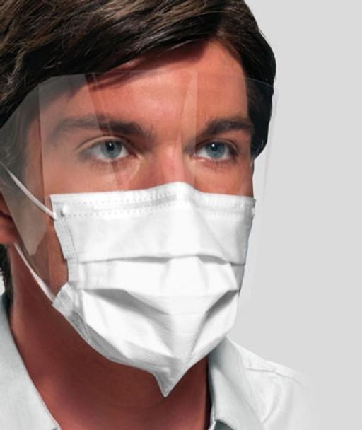 Ultra™ Sensitive FogFree™ Level 3 Earloop Mask w/ Shield