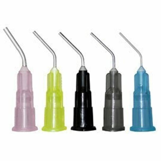 Pre-Bent Dispensing Tips Blue 25 Gauge 100/Pk