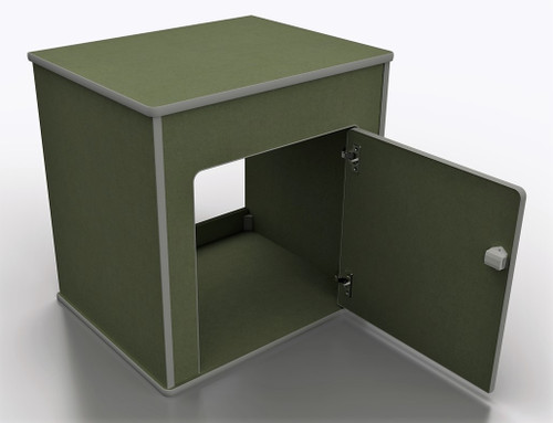 Pod 010 in moisture resistant MDF internal