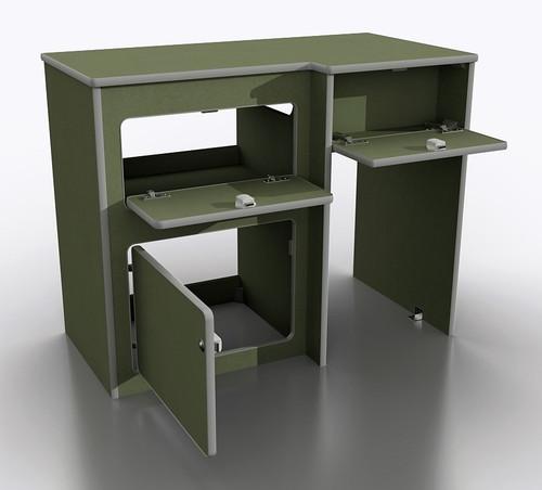 Campervan fridge pod 024 in moisture resistant MDF internal