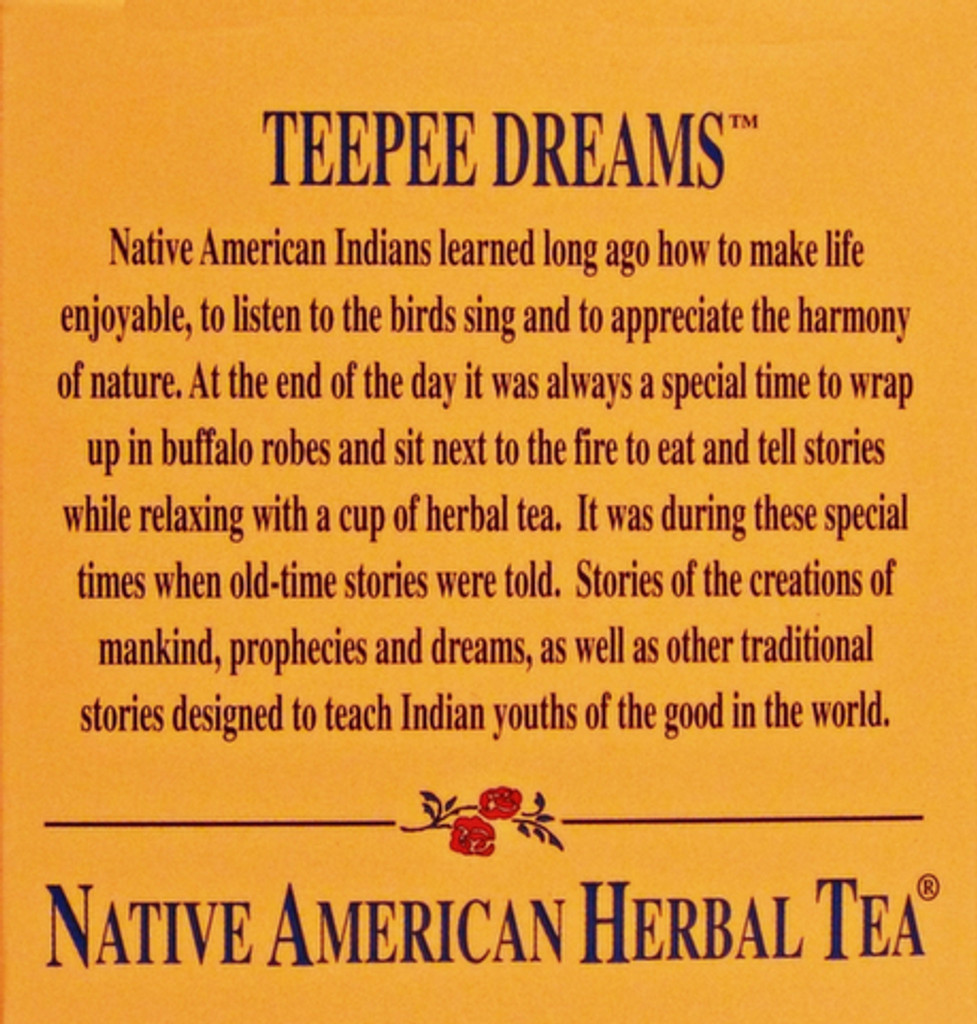 Teepee Dreams Mint - Peppermint, Valerian Root, Chamomile Tea
