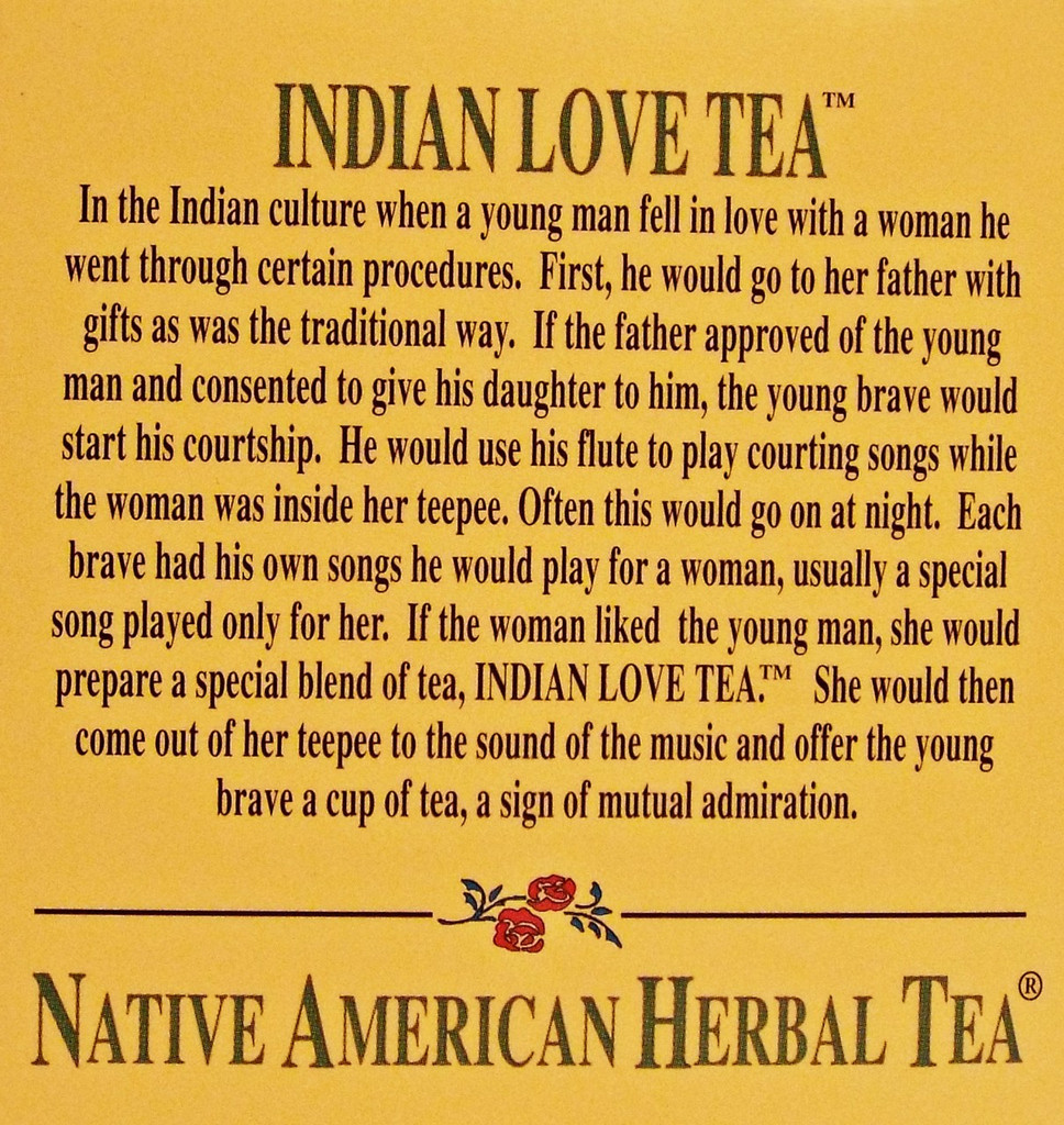 Indian Love Tea - Damiana, Ginseng Root, Muira Puama Tea