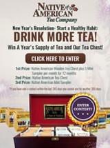 #StartAHealthyHabit Win A Year's Supply of Tea!