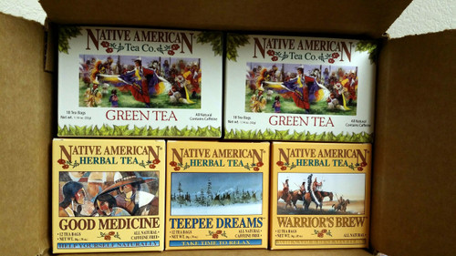 Native American Tea Company Sampler 2