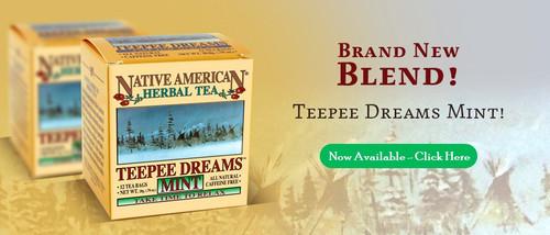 Teepee Dreams Mint - Peppermint, Valerian Root, Chamomile Tea