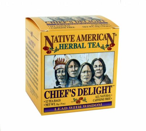 Chief's Delight - Strawberry Leaf, Blackberry Leaf, Juniper Tea