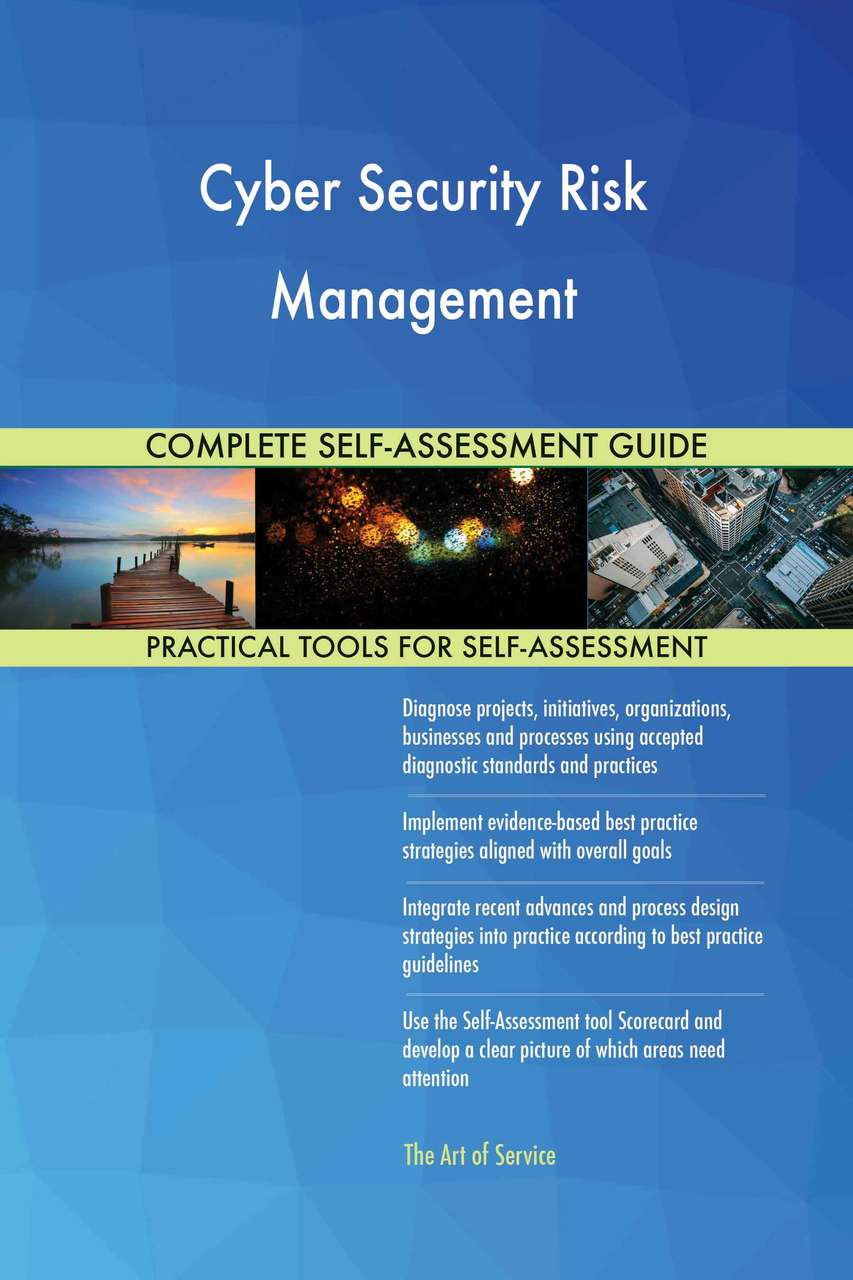 Cyber Security Risk Management Self-Assessment - NIST CSF Aligned
