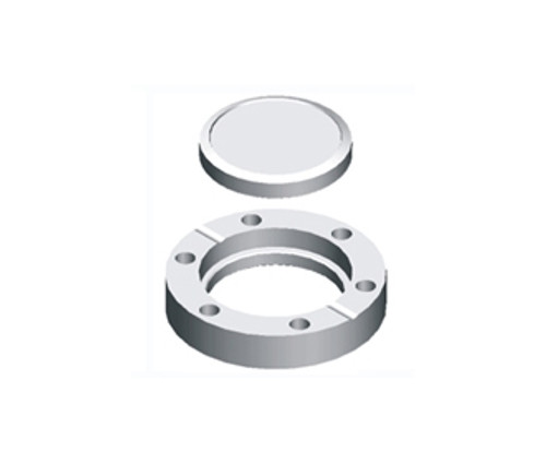 Blank Flange, Rotatable, Tapped