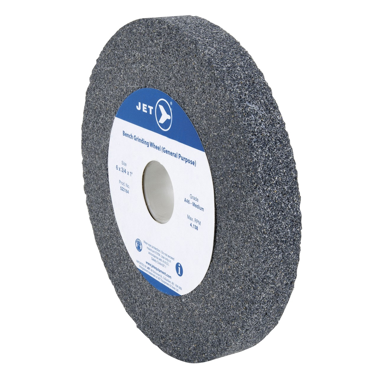 6 X 1 X 1 A80 Bench Grinding Wheel Jt522176 Sabre