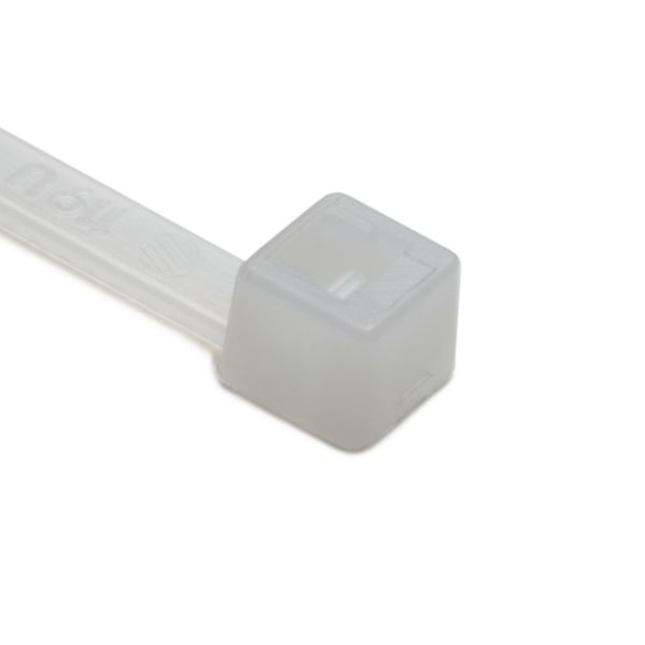 eacf09a02399 Cable Ties for higher chemical resistance for temperatures up to +115 °C in  Polypropylene