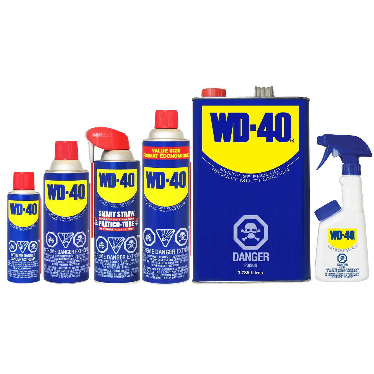 WD40 Multi Use Product (Lubricant) - (WDF01100)