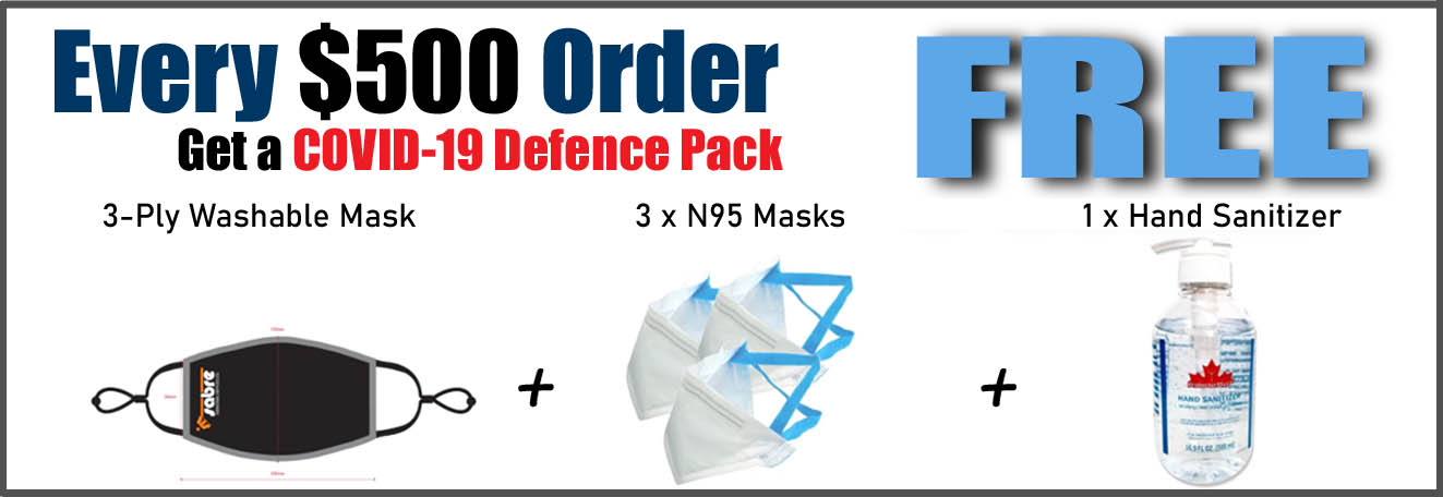 Sabre Industrial Supplies - COVID Defence Package
