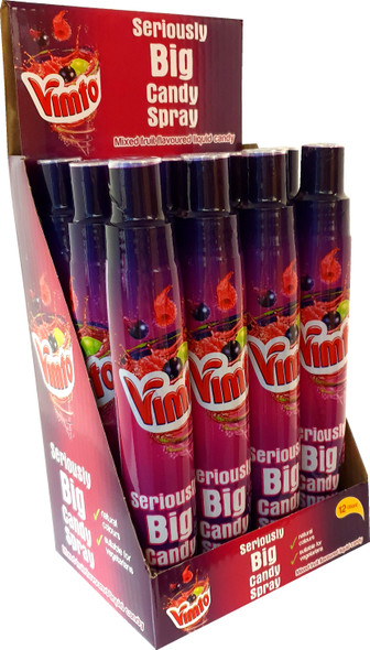 Giant Liquid Candy Spray Made With Delicious Secret Vimto Flavour
