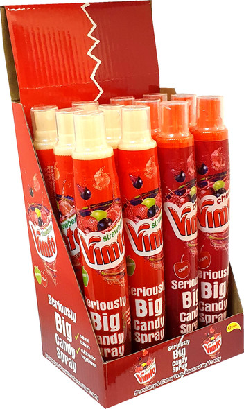 Limited Edition Vimto Cherry and Strawberry Seriously Big Candy Spray
