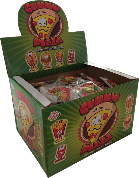 Gummy Pizza - Mixed Fruit Flavours
