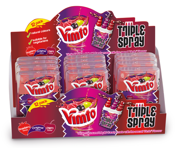 Vimto Triple Spray Display