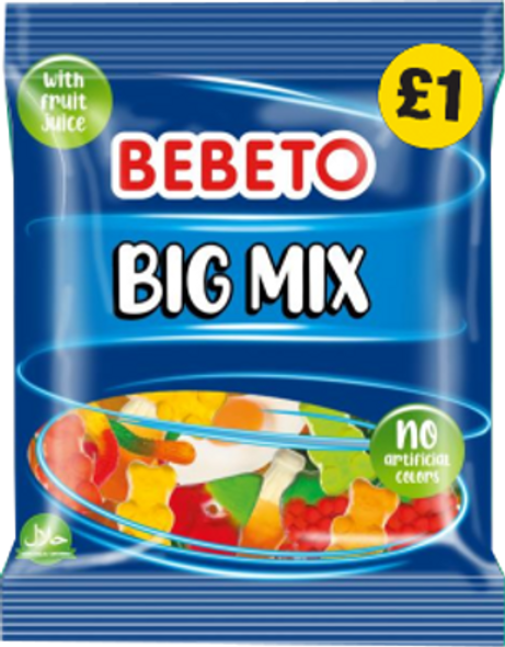 Bebeto Big Mix - 4 x 10 x150g