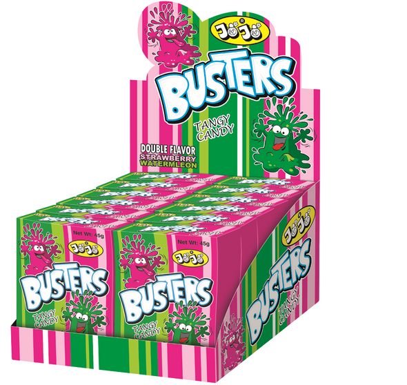 Busters Strawberry & Watermelon - 12 x 12 x 45g