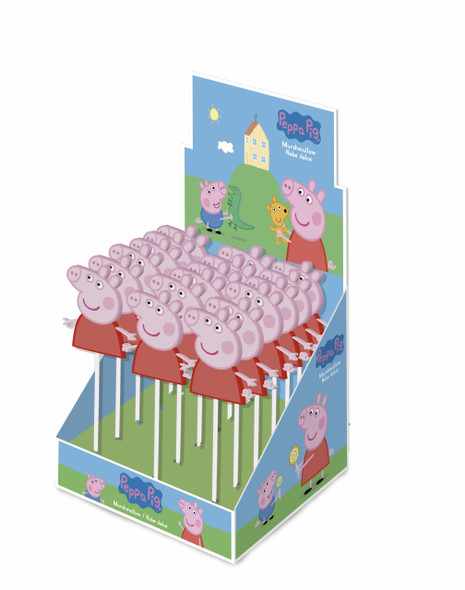 Coming Soon: Peppa Pig Mallow Pop - 6 x 18 x 30g