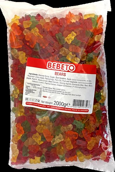 Bebeto Gummy Bears - 1 x 6 x 2kg