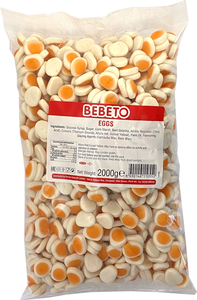 Bebeto Eggs - 1 x 6 x 2kg