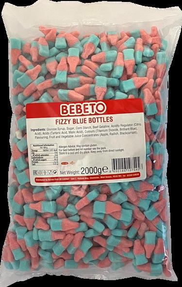 Bebeto Fizzy Blue Bottles  1 x 6 x 2kg