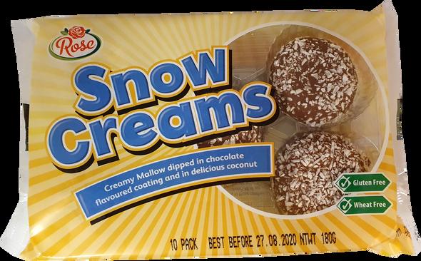 Gluten Free Snow Creams - NO VAT
