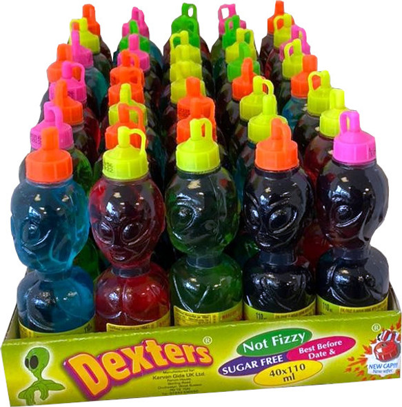 Dexters Marcianitos - 4 x 40 x 110ml