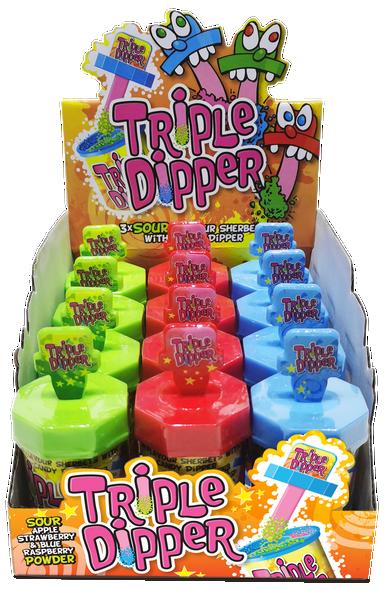 Candy Castle Crew Triple Dipper - 12 x 12 x 35g