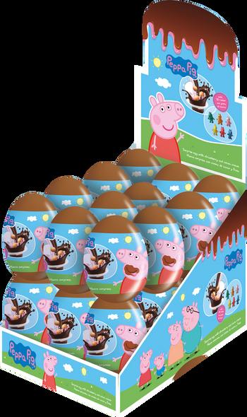 Coming Soon: Peppa Pig Crunch Egg - 6 x 24 x 5g