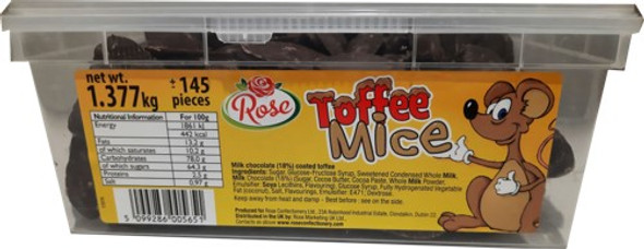 Toffee Mice - 6 x 145 x 9g