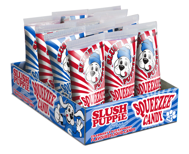 SLUSH PUPPiE Squeezee Candy 4 x 12 x 60g