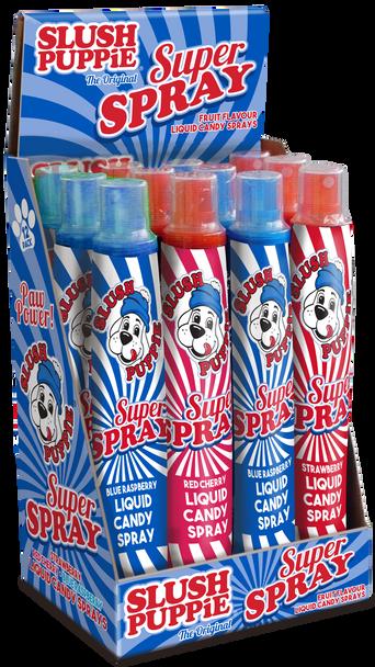 Coming Soon: SLUSH PUPPiE Super Spray - 9 x 12 x 80ml