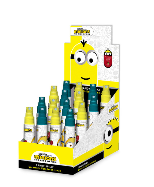 Coming Soon: Minions Candy Spray - 18 x 15 x25ml