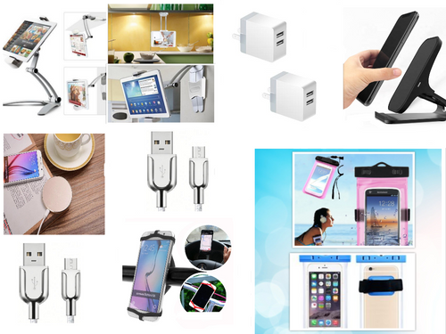 iPhone/iPad Android Compatible PRO Set!  12 Smart Device Accessories Save $50 Bundled!